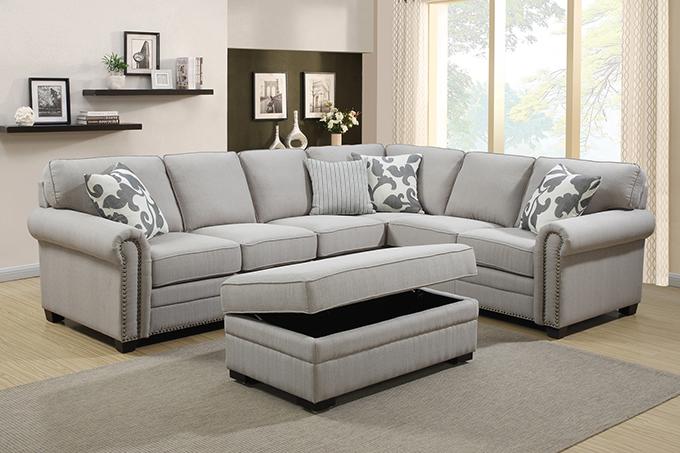 GEORGE L Shape Corner Sofa-Furniture Bazaar NZ--Auckland Furniture Clearance